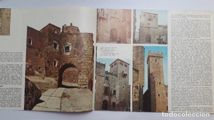 Folletos de turismo: folleto turístico: CÁCERES, SPAIN, 1974, (en inglés) - Foto 3 - 180185068