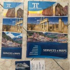 Folletos de turismo: REVISTA TURÍSTICA Y FOLLETOS SOBRE CAPRI, NÁPOLES, POMEYA Y COSTA AMALFITANA, ITALIA. 42 PÁGINAS.. Lote 180240985
