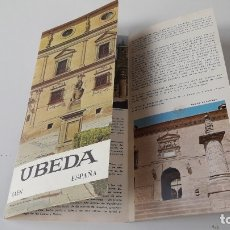 Folletos de turismo: FOLLETO TURÍSTICO: ÚBEDA (1969). Lote 180281928