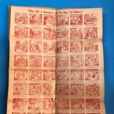 Folletos de turismo: AUCA Y LIBRO DE LA FALLA INFANTIL DE LA CALLE QUART, AÑO 1947. Lote 180325360