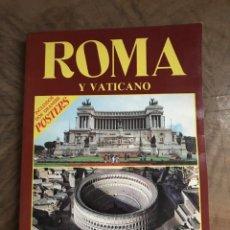 Folletos de turismo: ROMA. Lote 180417786
