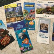 Folletos de turismo: LOTE DE MAPAS Y FOLLETOS TURÍSTICOS DESPLEGABLES DE MALLORCA. AÑO 2019. EN VARIOS IDIOMAS. NUEVOS.. Lote 180427375