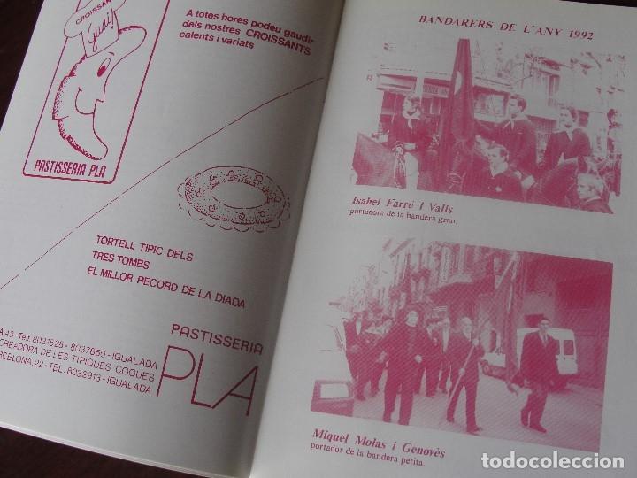 Folletos de turismo: programa GREMI DE TRAGINERS D´ IGUALADA 1993 - CAVALLS - PUBLICITAT - Foto 2 - 180412243