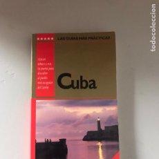 Folletos de turismo: CUBA. Lote 180902351