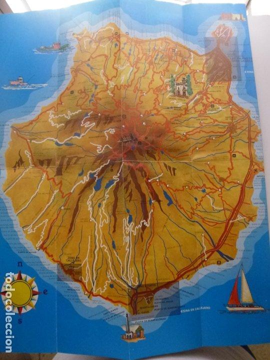 Folletos de turismo: PLANO CALLEJERO Y MAPA TURÍSTICO DE LAS PALMAS DE GRAN CANARIA - Foto 2 - 181725172