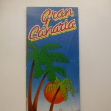 Folletos de turismo: PLANO CALLEJERO Y MAPA TURÍSTICO DE LAS PALMAS DE GRAN CANARIA. Lote 181725172