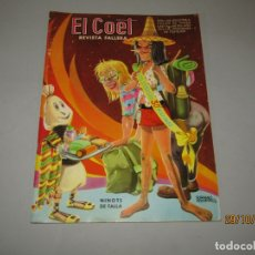 Brochures de tourisme: ANTIGUA REVISTA DE FALLAS EL COET Nº 26 DEL AÑO 1970. Lote 181739132