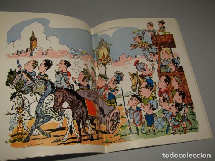 Folletos de turismo: Antiguo Llibret de Fallas de la Falla PLAÇA NA JORDANA del Año 1965 - Foto 3 - 181742148