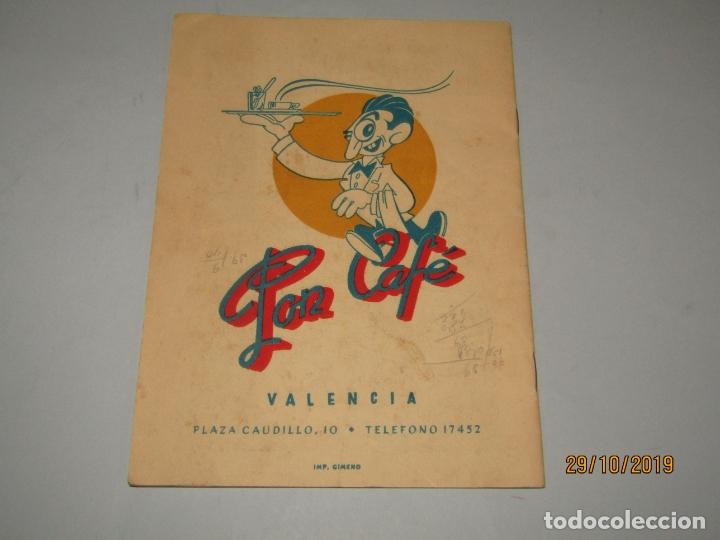 Folletos de turismo: Antiguo Llibret de Fallas de Falla SO QUELO - Plaza del Caudillo del Año 1950 - Foto 5 - 181872395