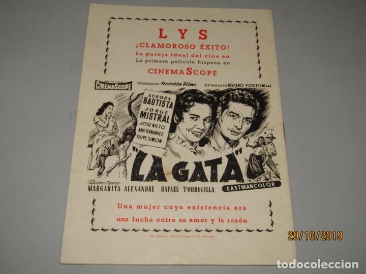Folletos de turismo: Antiguo Llibret de Fallas de Falla Barques i Adjacents del Año 1956 - Foto 2 - 181872786