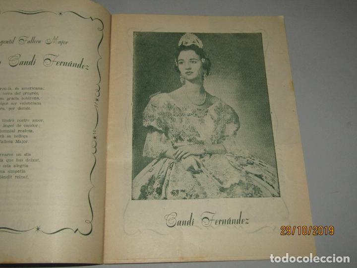 Folletos de turismo: Antiguo Llibret de Fallas de Falla Barques i Adjacents del Año 1956 - Foto 3 - 181872786