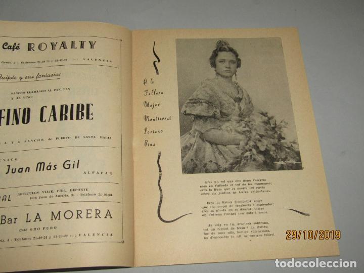 Folletos de turismo: Antiguo Llibret de Fallas de Falla Barques i Adjacents del Año 1960 - Foto 2 - 181873203