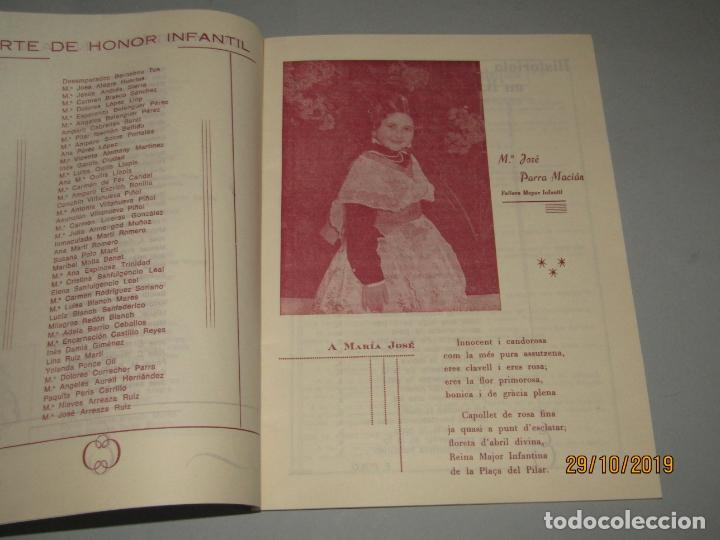 Folletos de turismo: Antiguo Llibret de Fallas de Falla PLAZA DEL PILAR del Año 1970 - Foto 2 - 181874086