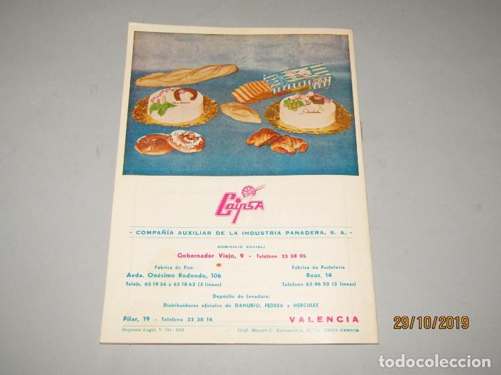 Folletos de turismo: Antiguo Llibret de Fallas de Falla PLAZA DEL PILAR del Año 1970 - Foto 4 - 181874086