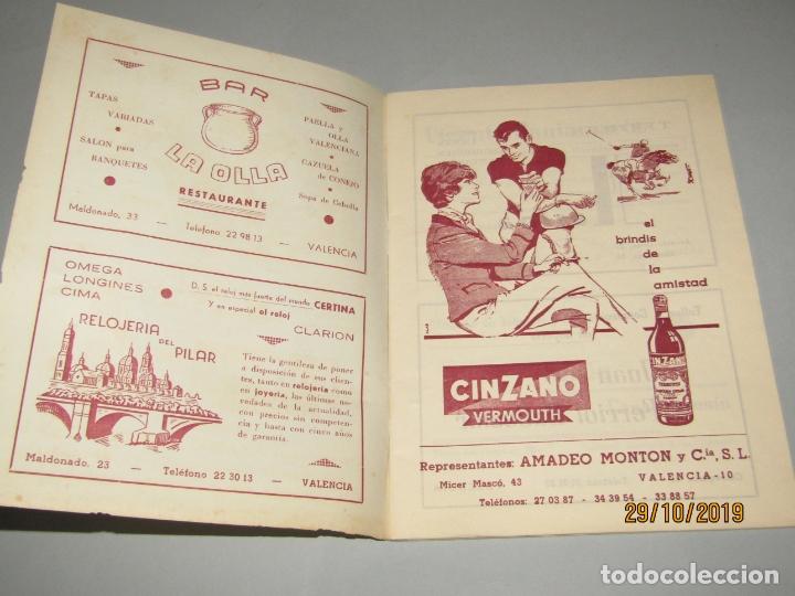 Folletos de turismo: Antiguo Llibret de Fallas de Falla PLAZA DEL PILAR del Año 1970 - Foto 5 - 181874086