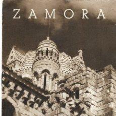 Folletos de turismo: ZAMORA - DÍPTICO TURÍSTICO CON 8 PÁGINAS DE LA JUNTA PROVINCIAL DE TURISMO, MUCHAS FOTOGRAFÍAS. Lote 181992103