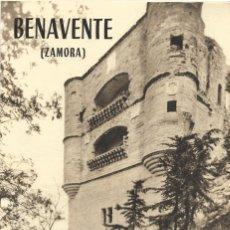 Folletos de turismo: BENAVENTE (ZAMORA) - FOLLETO TURÍSTICO CON 8 PÁGINAS Y NUMEROSAS FOTOGRAFÍAS. Lote 181992756