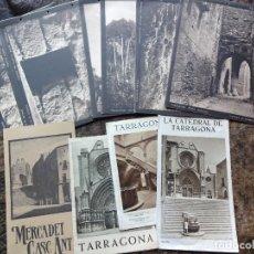 Folletos de turismo: LOTE ANTIGUOS FOLLETOS DE TURISMO DE TARRAGONA INICIATIVA ATRACCION DE FORASTEROS FOTOS CARTULINAS. Lote 182307353