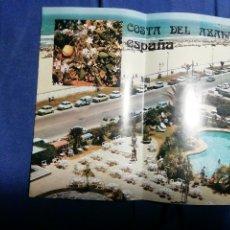 Folletos de turismo: FOLLETO TURÍSTICO. COSTA DEL AZAHAR. Lote 182652940