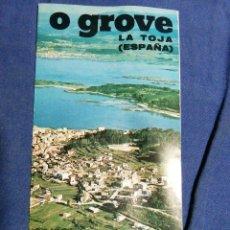 Folletos de turismo: AÑOS 70. FOLLETO TURÍSTICO DE O GROVE. PONTEVEDRA. GALICIA. Lote 182730051