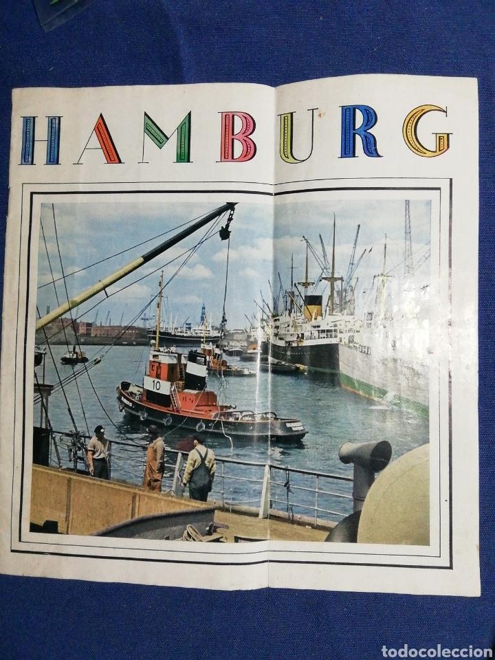 Folletos de turismo: AÑOS 70. FOLLETO TURÍSTICO DE HAMBURGO - Foto 2 - 182730286