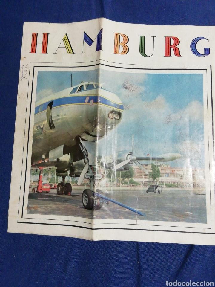 AÑOS 70. FOLLETO TURÍSTICO DE HAMBURGO (Coleccionismo - Folletos de Turismo)