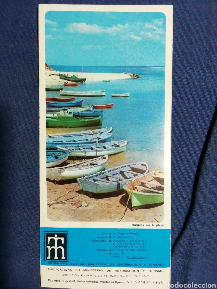 Folletos de turismo: AÑOS 70. FOLLETO TURÍSTICO DE FOZ. LUGO. GALICIA - Foto 2 - 182730442