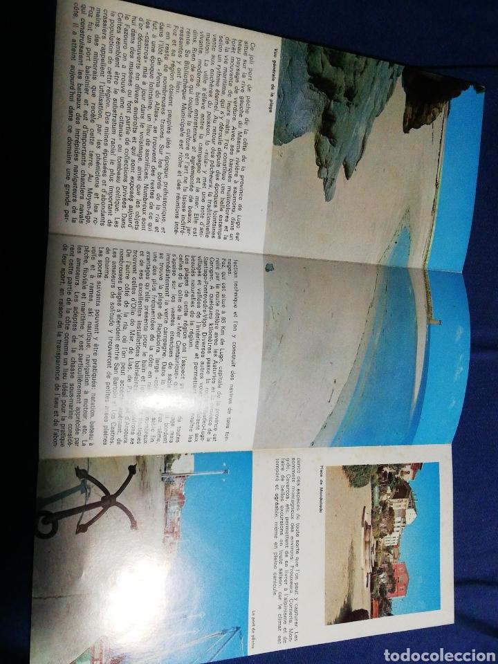 Folletos de turismo: AÑOS 70. FOLLETO TURÍSTICO DE FOZ. LUGO. GALICIA - Foto 3 - 182730442