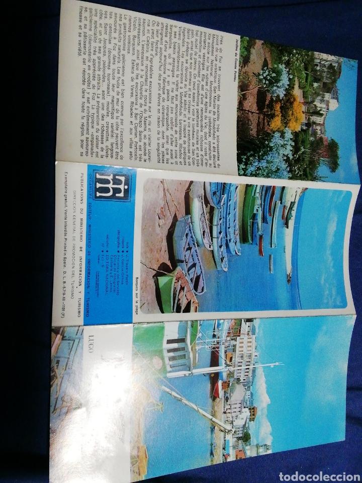 Folletos de turismo: AÑOS 70. FOLLETO TURÍSTICO DE FOZ. LUGO. GALICIA - Foto 4 - 182730442