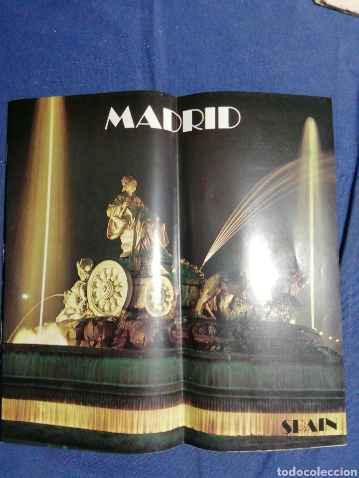 1978 FOLLETO TURÍSTICO DE MADRID (Coleccionismo - Folletos de Turismo)
