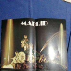 Folletos de turismo: 1978 FOLLETO TURÍSTICO DE MADRID. Lote 182731967