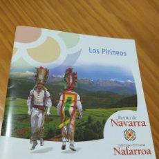 Folletos de turismo: FOLLETO REYNO DE NAVARRA. LOS PIRINEOS.. Lote 182787731
