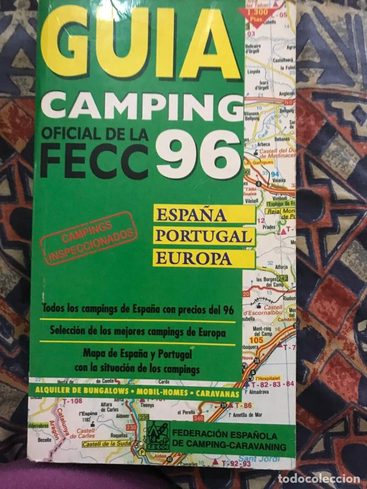GUÍA CAMPING 96 (Coleccionismo - Folletos de Turismo)
