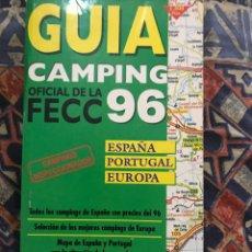 Folletos de turismo: GUÍA CAMPING 96. Lote 183060921