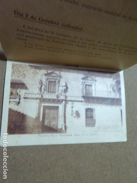 Folletos de turismo: ANTIGUO PROGRAMA DE FERIA DE UBEDA. 1926. ILUSTRADO. - Foto 4 - 183060982