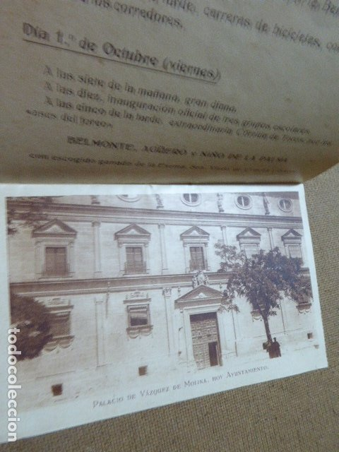 Folletos de turismo: ANTIGUO PROGRAMA DE FERIA DE UBEDA. 1926. ILUSTRADO. - Foto 6 - 183060982
