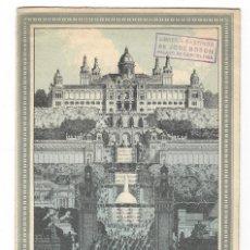 Folletos de turismo: TRÍPTICO DE LA EXPOSICIÓN INTERNACIONAL BARCELONA 1929. Lote 183224523