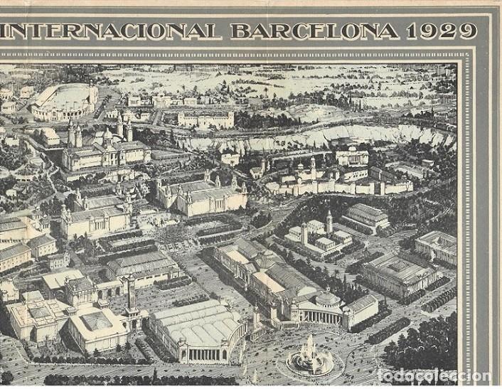 Folletos de turismo: Tríptico de la Exposición Internacional Barcelona 1929 - Foto 4 - 183224523