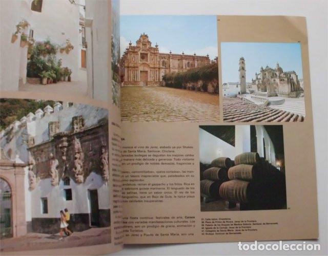Folletos de turismo: Folleto de Turismo de la provincia de Cádiz. Año 1979 - Foto 2 - 183312728