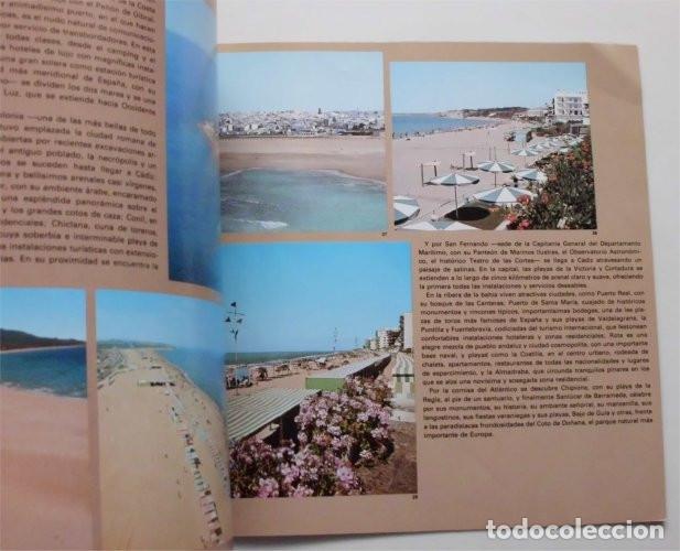 Folletos de turismo: Folleto de Turismo de la provincia de Cádiz. Año 1979 - Foto 3 - 183312728
