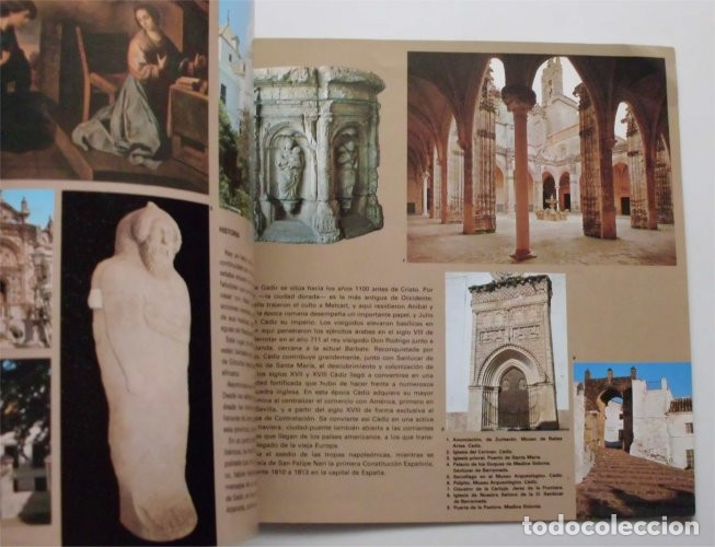 Folletos de turismo: Folleto de Turismo de la provincia de Cádiz. Año 1979 - Foto 5 - 183312728