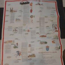Folletos de turismo: MAPA HISTORICO GALICIA LUGO. Lote 183363660