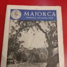 Folletos de turismo: MENORCA CATÁLOGOS INFORMACIÓN 1975. Lote 183386201