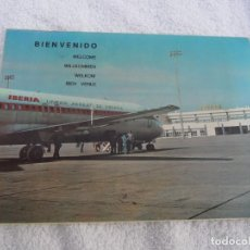 Folletos de turismo: POSTAL..LINEAS AEREAS DE ESPAÑA..IBERIA,,,PARA COLOCAR FOTOS DE RECUERDO...AÑOS 70.. Lote 183424452
