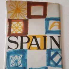 Folletos de turismo: SUBSECRETARÍA DE TURISMO ESPAÑA 1965 FOLLETO TURÍSTICO NACIONAL EN INGLÉS. Lote 183478686