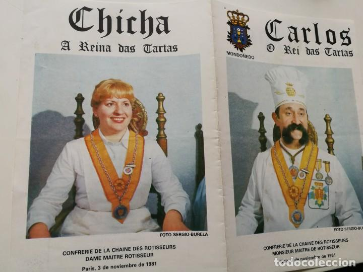 EL REY DE LAS TARTAS-MONDOÑEDO (O REY DAS TARTAS) (Coleccionismo - Folletos de Turismo)