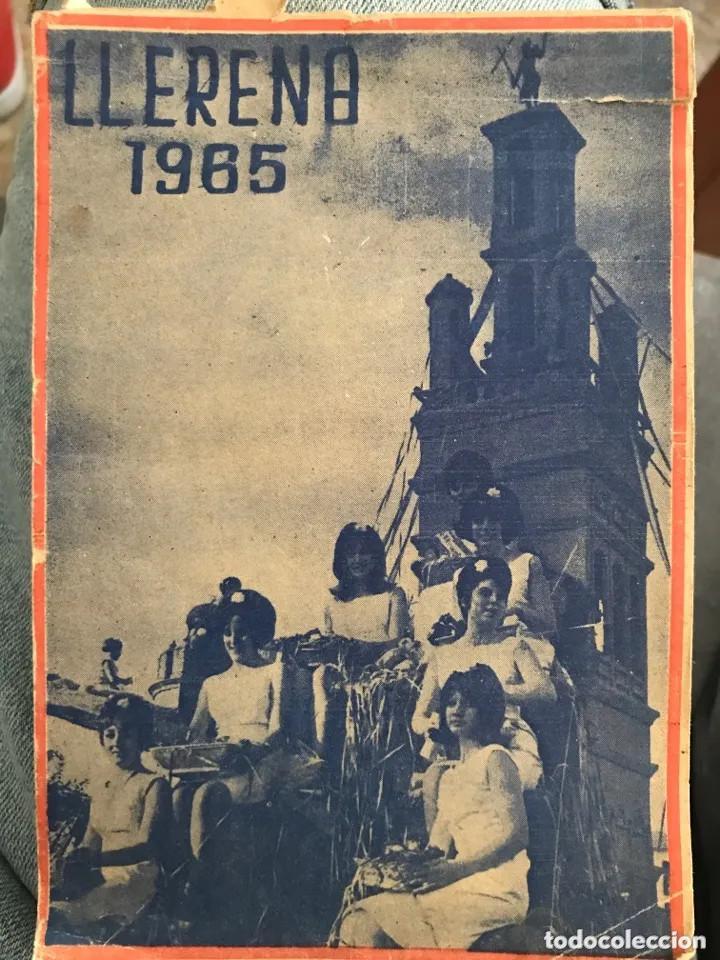 ANTIGUA GUÍA LLERENA 1965 BADAJOZ (Coleccionismo - Folletos de Turismo)