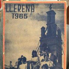 Folletos de turismo: ANTIGUA GUÍA LLERENA 1965 BADAJOZ. Lote 183620306
