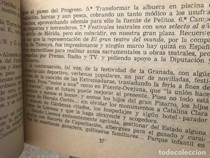 Folletos de turismo: ANTIGUA GUÍA LLERENA 1965 BADAJOZ - Foto 4 - 183620306