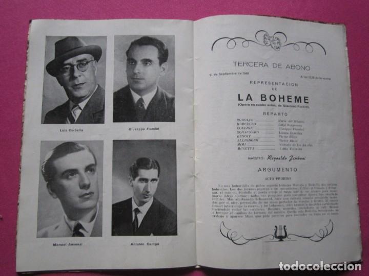 Folletos de turismo: INAGURACIOS DEL TEATRO CAMPOAMOR DE OVIEDO PROGRAMA AÑO 1948 - Foto 3 - 183673687
